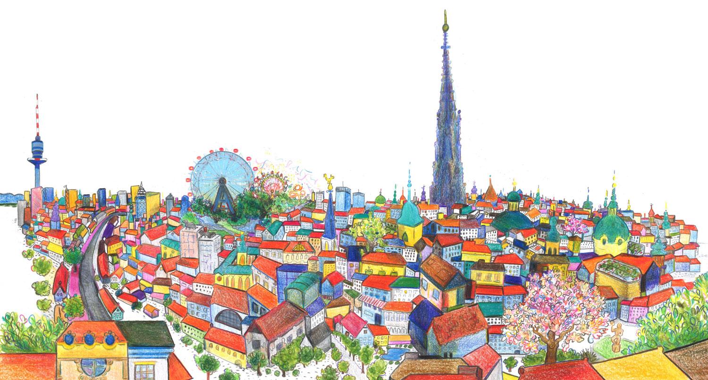 Bildresultat för vienna skyline